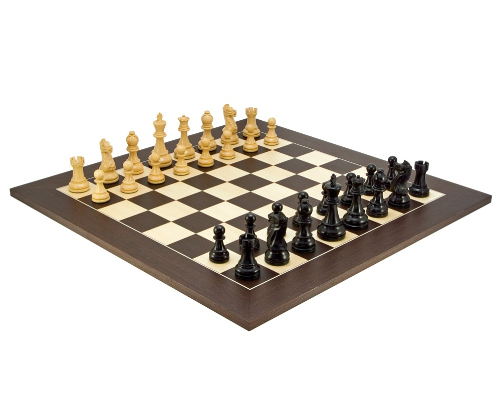 Frankfurt Grand Wenge Chess Set