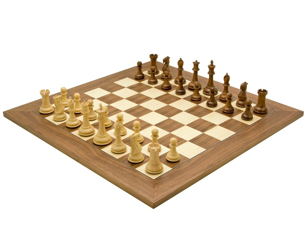 Victoria Sheesham Deluxe Staunton Chess Set