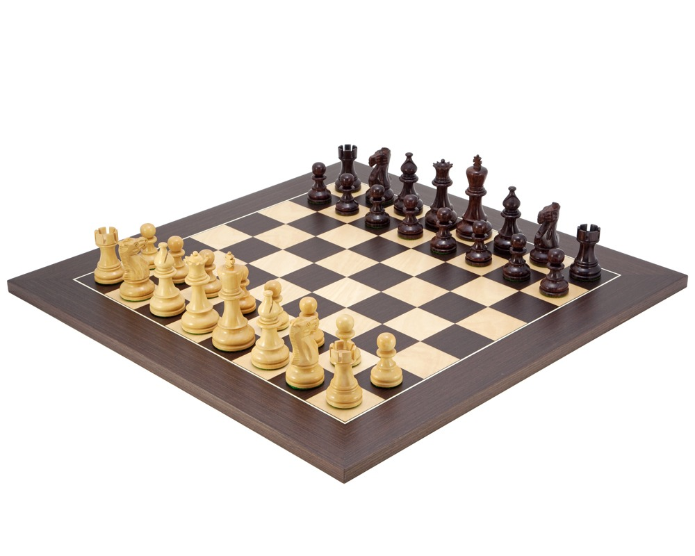 Atlantic Rosewood Chess Set
