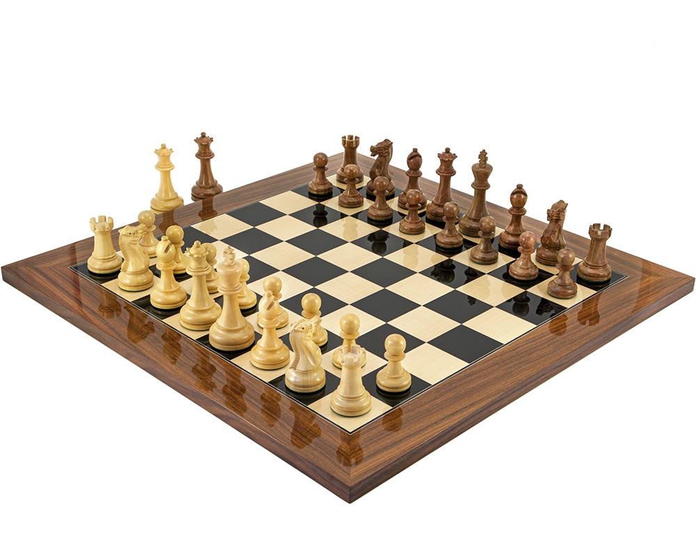 Executive Palisander Chess Set