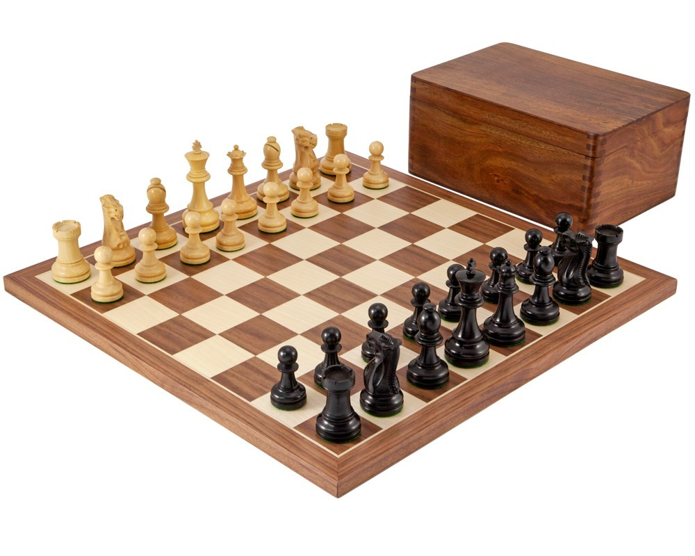 Supreme Ebony Tournament Chess Set