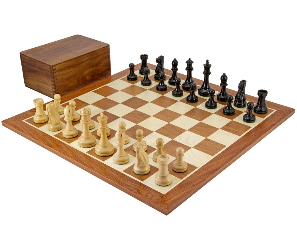 Broadbase Ebony Competition Chess Set