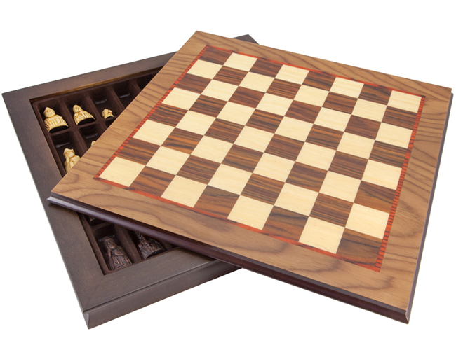 The Isle of Lewis Cabinet Chess Set