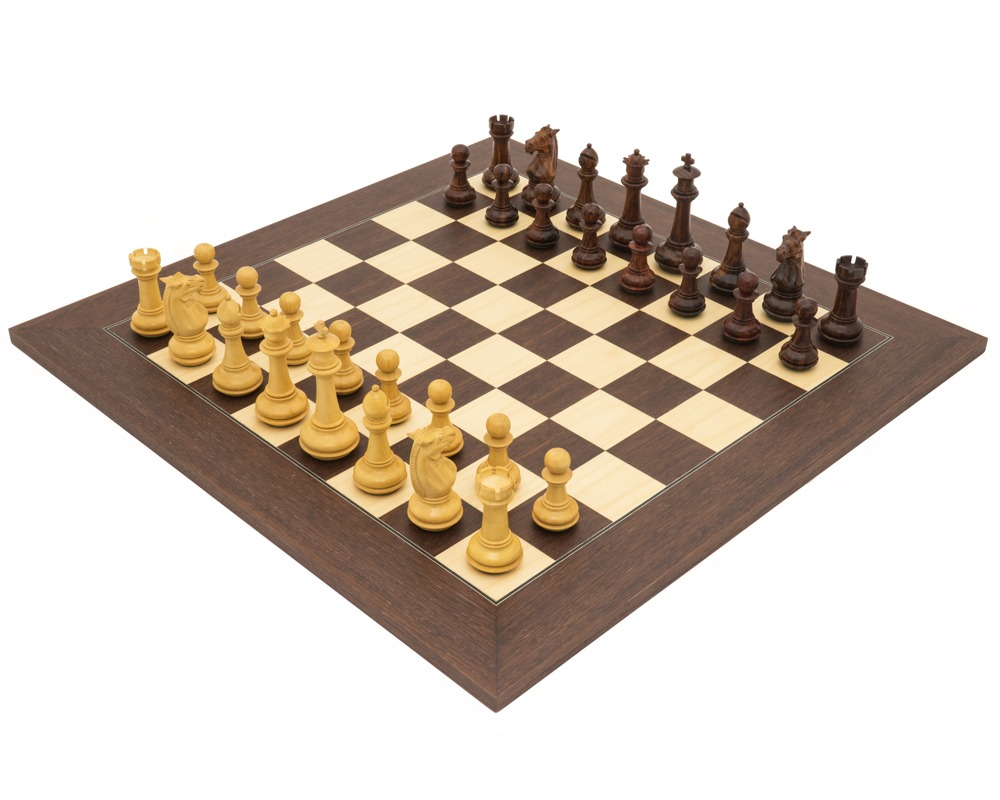 The Templar Palisander Luxury Chess Set