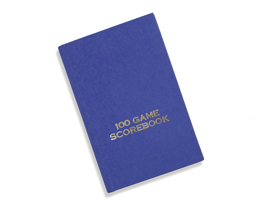 Hardback Chess Scorebook - 100 Games