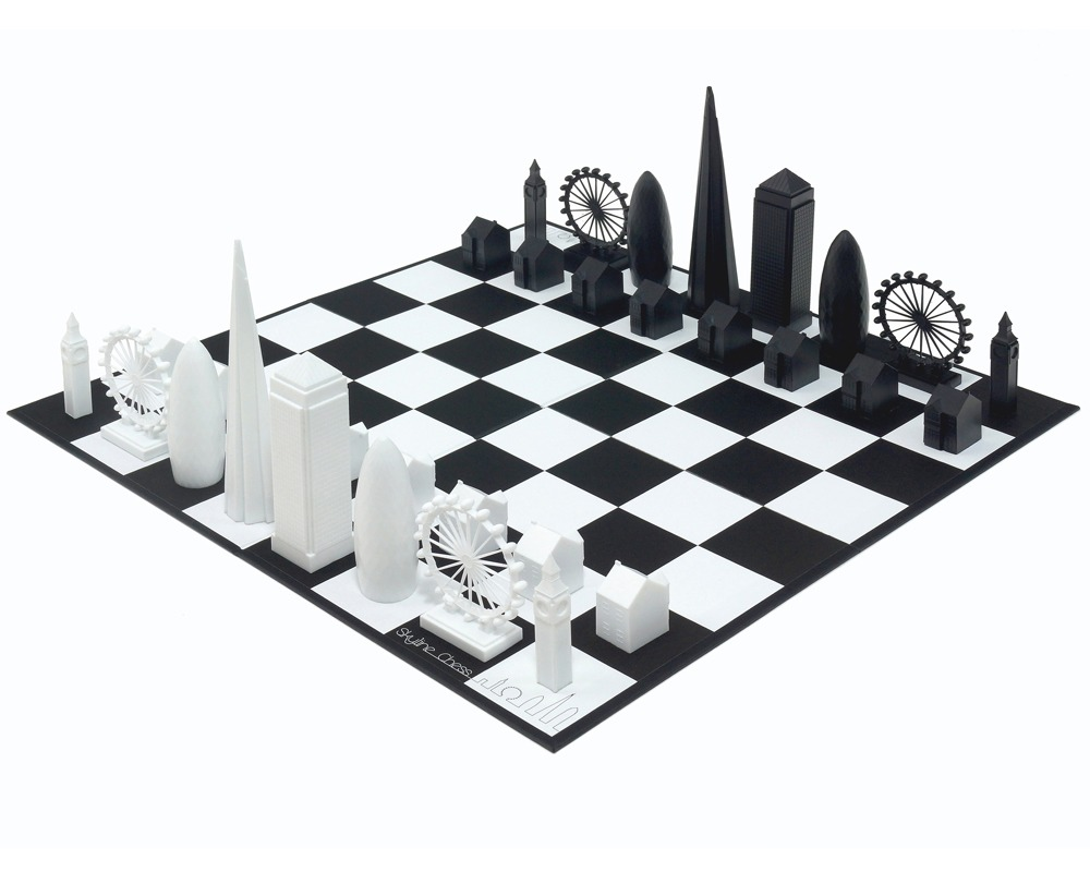 The London Skyline Chess Set