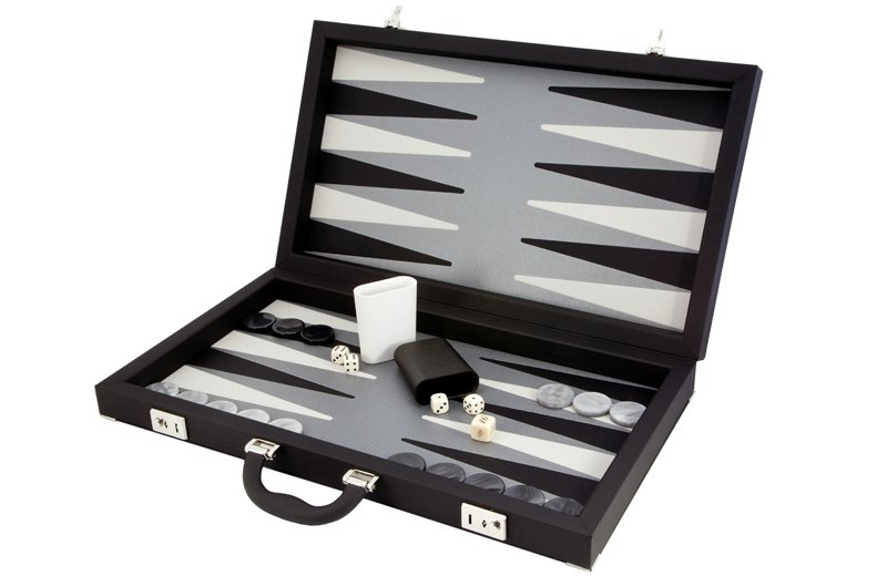 Leather Backgammon Sets