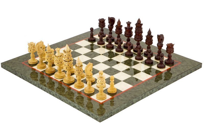 Ornate Chess Sets