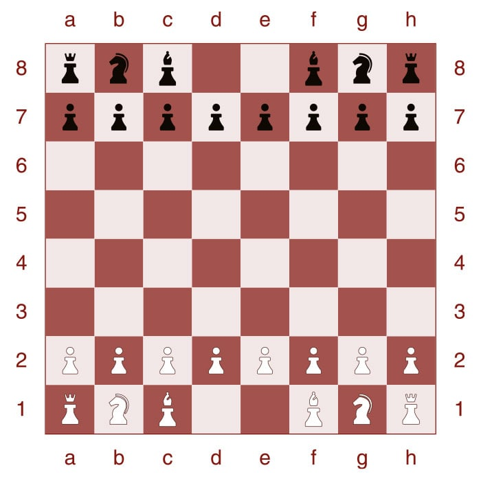 How to set up a chessboard - Step 5