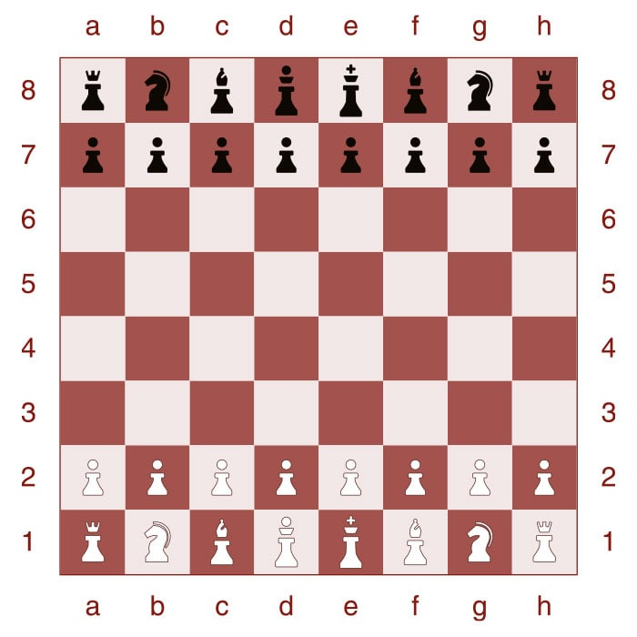 How to set up a chessboard - Step 7