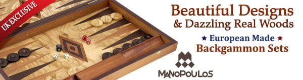 Exclusive UK Manopoulos Backgammon Sets