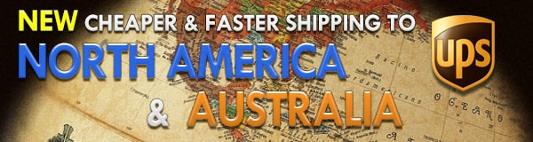 Great Rates to the USA, North America, Australia!